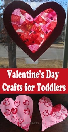 Moments That Take My Breath Away: Valentine's Day Crafts for Toddlers