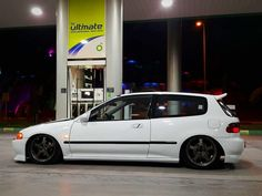 #Honda #Civic #Eg #Hatch #Slammed #Stance #Modified