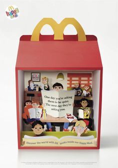 McDonald's Happy Meal as you've never seen it before! | Print design | Creative Bloq