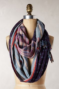 perfect fall colors in this loop scarf #anthrofave http://rstyle.me/n/sgzgvr9te