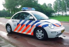 Dutch Police VW Beetle
