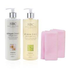 Una pelle detersa e idratata è la base ideale su cui applicare il make up. Grazie al kit I Detergenti di SBC potrai pulire, rifrescare e idratare la pelle per prepararla al meglio al trucco e alle creme che applichi. Il kit, oltre a due morbidissimi panni, contiene il detergente al collagene che ti aiuta ad esfoliare delicatamente la pelle rendendola più liscia e morbida e il detergente tonico che rinfresca e toglie ogni traccia di trucco dal viso. SBC, solo il meglio per la ...