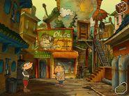 Professor Layton and the Unwound Future - Chinatown