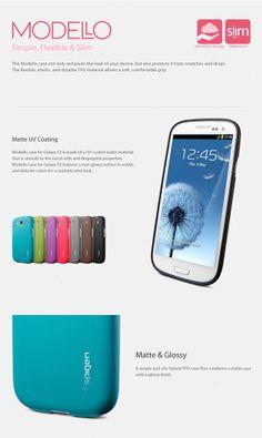 Cuida tu Galaxy S3 de caídas y golpes con la carcasa Modello Rubine. Su diseño elegante y delgado mantiene el teléfono móvil protegido y además a la moda. Hecho 100% del material TPU (poliuretano termoplástico) suave al tacto. Colores disponibles: Rojo. Hecho 100% del material TPU (poliuretano termoplástico) suave al tacto.