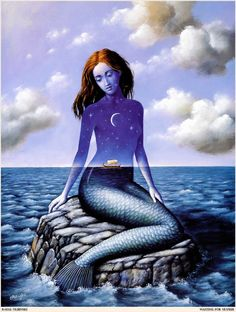 mermaid waiting for Ulysses