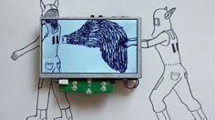 The edgy new media art of Laramascoto