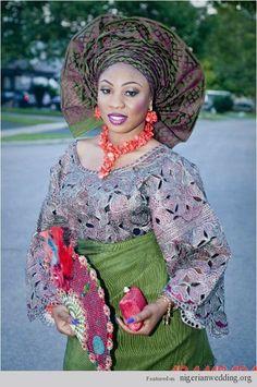 Nigerian wedding engagement Joke Tijani 5