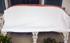 1960's White Chenille - Bedspread. Fringe, 108 inches x 124 inches- Vintage - Fabulous! by YPSA on Etsy