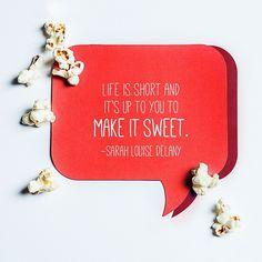 #PopcornIndiana #quote #sweet #popcorn #kettlecorn