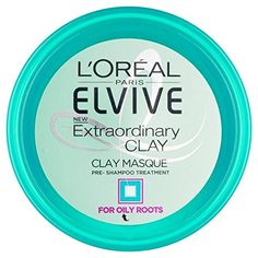 I once tried a clay mask in my hair pre-shampoo... and hated it. This L'Oreal Paris Elvive Extraordinary Clay is different.