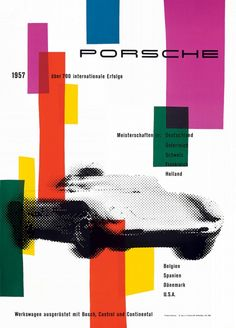 Awesome Porsche Posters from the 1950′s - via http://bit.ly/epinner