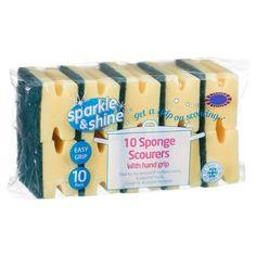 298010-10-Sponge-Scourers-with-Hand-Grip