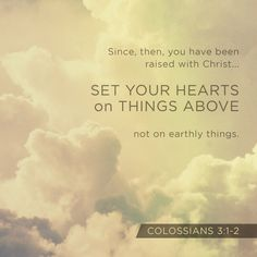 Colossians 3:1-2