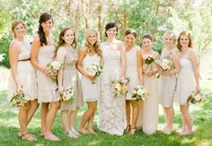 Brumley and Wells: weddings: Look closely that's my sister next to the bride!!