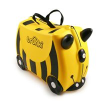Buy Trunki Ride On Case - Bernard Bee online and save! Trunki – the world's first ride-on suitcase for globetrotting tots! Trunki was created to beat the boredom so often suffered by travelling tots. Buy Luggage, Kids Luggage, Hand Luggage, Carry On Luggage, Luggage Suitcase, Travel Luggage, Childrens Suitcases, Childrens Luggage, Diaper Bag Checklist