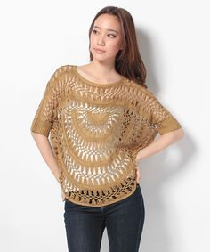 hairpin lace crochet blouse just saw a young teen girl today with this shirt, in the wild! (19/08/2013)