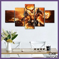 Canvas Prints Frame Game Movie Postres Painting Living Room Canvas Art Posters And Prints Paintings By Numbers Wall Pictures