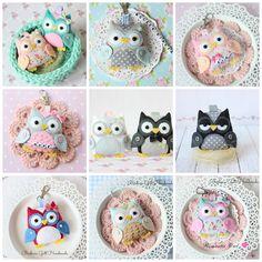 Kocham sowy...i chyba nie tylko ja ;)Sówki to nadal Waszulubiony temat zamówień,z przyjemnością...