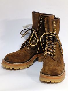 WHITE'S BOOTS SMOKE JUMPER KKH202-Distressed Roughout