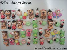 Polymer clay magnets