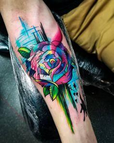 Forearm Tattoo Weird Tattoos, Sweet Tattoos, Cute Tattoos, Beautiful Tattoos, Tattoos For Guys, Tattoos Mandala, Forearm Tattoos, Body Art Tattoos, Men Flower Tattoo