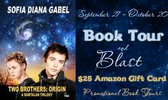 Two Brothers: Origin, by Sofia Diana Gabel - Review and Tour Blast