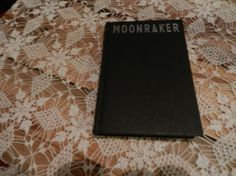 Rare Collectable Book  Moonraker by Ian by LaVieEnNoirGallery