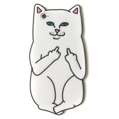The Sassiest Cat Phone Case You Never Knew You Needed ($30) ❤ liked on Polyvore featuring accessories, tech accessories, phone cases, phone, cases and fillers