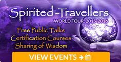 Our Spirited-Travellers World Tour is all about inspiring people to be the bridge between ancient knowledge and our present day world, so we can transform ourselves, our community's and the world at large from the inside out. http://www.universallifetools.com/spirited-travellers-events-simone/