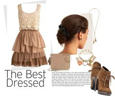 """Dress Outfit"" by whiteangel01 on Polyvore"