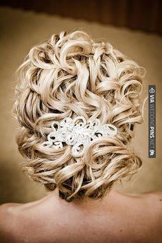 Curls | VIA #WEDDINGPINS.NET