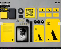 Attido | BOND - CoolHomepages Web Design Gallery