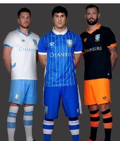 Here are our kits for the 2016/17 season • The Home Shirt is some what growing on me now but I think the away shirt is awful although I am liking the White Third Strip