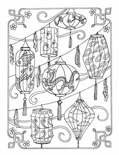 Inkspirations For A Happy Heart Adult Coloring PagesColoring