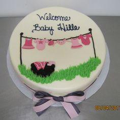 Cake Anatomy -Baby Clothesline