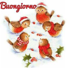 tube de noel Plus Christmas Bird, Christmas Scenes, Christmas Clipart, Christmas Animals, Vintage Christmas Cards, Christmas Printables, Christmas Pictures, Xmas Cards, Winter Christmas