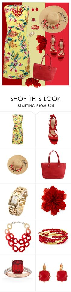 """Tropical Paradise- VI"" by mary-kay-de-jesus ❤ liked on Polyvore featuring M&Co, Gianvito Rossi, Gucci, Alisha.D, Chrysalis, Allurez and Les Néréides"