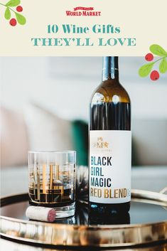 We chose some of our favorite adult beverages to gift for the holidays. Whether they enjoy beer, wine or spirits, we've got the perfect present for the discerning drinker on your list. #worldmarket #alcoholgifts #winegifts Wine Gifts, Food Gifts, Alcohol Gifts, Shopping World, Affordable Home Decor, World Market, Black Girl Magic, Gift Baskets, Stocking Stuffers