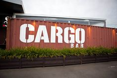 Cargo.  What a superlative name for a container bar/restaurant! PopUp Republic
