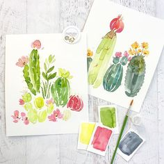 Giveaway! @pinnersconf opened their registration for classes today!!! ❤️ Use code: Malan for 10% off! And I picked cacti, BUT don't worry if you want to learn the succulents too - I have you covered!!!! It was almost tied with the voting so I thought this class would let you learn some flower things AND cacti too... Follow me, like this post, and Tag a buddy you would take to Pinners in the comments below and enter to win that original painting on the left! Enter as many times as you woul...