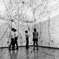 Gego. Reticulárea (ambientación), 1969. Museo de Bellas Artes, Caracas