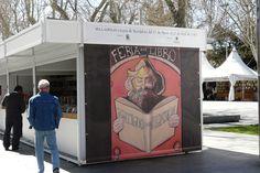 Stand en la Feria de Artesanía de Valladolid, hasta donde se ha trasladado #EsculturasMorla
