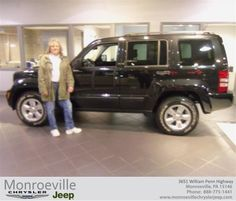 #HappyBirthday to Judi Hession from Wayne Livingston at Monroeville Chrysler Jeep!