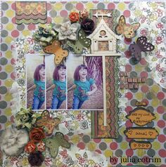 {my little bird} papers and canvases flowers by Julia Cotrim and photos by Bellepoq Photography