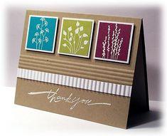 Quick Card Stamps: Pocket Silhouettes, Wonderful Words Paper: PTI Kraft and White, SU Rich Razzleberry,Kiwi Kiss,Bermuda Bay Ink: Versamark Scrapbooking, Scrapbook Cards, Scrapbook Templates, Cool Cards, Easy Cards, Alice, Paper Cards, Flower Cards, Homemade Cards