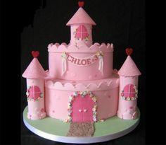 Como hacer una torta forma de castillo