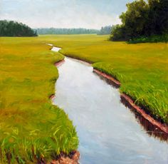 A River Runs Through by Takeyce Walter  http://takeyceart.com