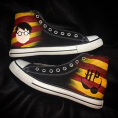NEW Harry Potter Converse Shoes by RahulMistry on Etsy