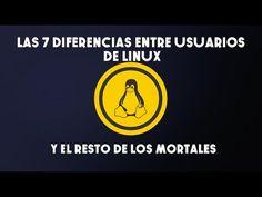 SOFTWARE LIBRE, OPEN SOURCE. Las 7 diferencias entre los usuarios de Linux y el resto de los mortales - https://www.facebook.com/ComputerHoy/videos/10153246017216524/ GNU