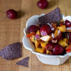 Cherry Cilantro Mango Salsa